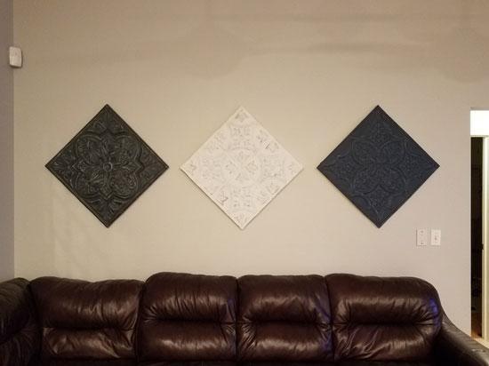 Tuscan Glory – Aluminum Ceiling Tile – 24″x24″ – #2438