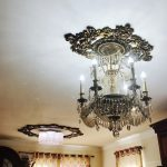 Vines Garden - FAD Hand Painted Ceiling Medallion - #CCMF-123