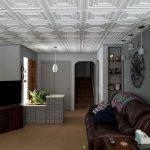 """Chestnut Grove - Styrofoam Ceiling Tile - 20""""x20"""" - #R 31 - Ultra Pure White - Satin (Behr)"""