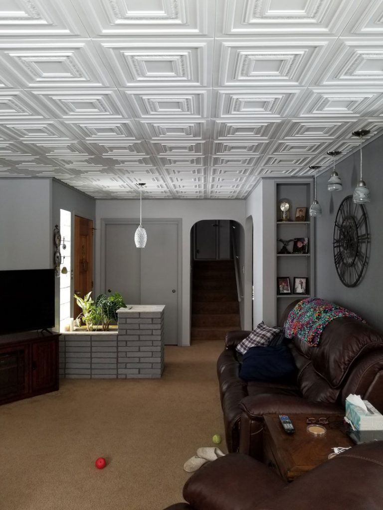 Living and dining dct gallery chestnut grove styrofoam ceiling tile 20x20 r 31 dailygadgetfo Gallery