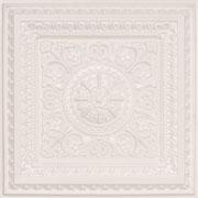 "La Scala - Faux Tin Ceiling Tile - 24""x24"" - #223 - White Pearl"