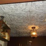 """Elizabethan Shield - Faux Tin Ceiling Tile - 24""""x24"""" - #DCT 04"""