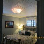 """Spring Buds - Styrofoam Ceiling Tile 20""""x20"""" - #R 05 - Plain White"""