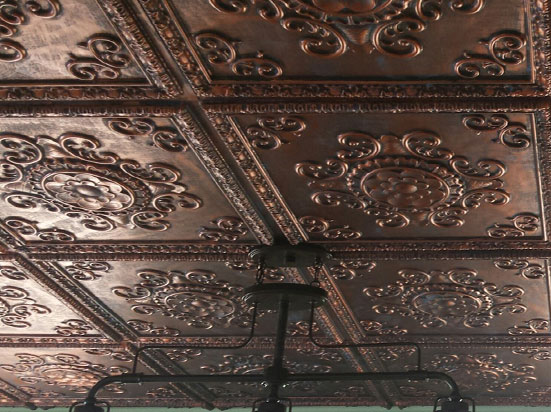 Faux Tin Ceiling Tile – 24 x 24 – #DCT 08
