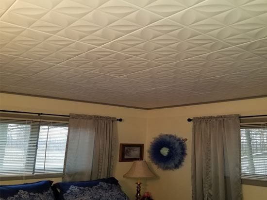 Perceptions – Styrofoam Ceiling Tile – 20″x20″ – #R103