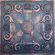 """Faux Tin Ceiling Tile - 24""""x24"""" - #DCT 22 - Rustic Copper"""