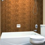 Subway Tile - MirroFlex - Tub and Shower Walls - Antique Bronze