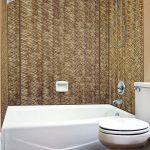 Wavation - MirroFlex - Tub and Shower Walls - Bermuda Bronze