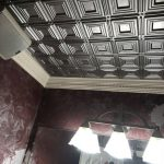"Dimensional Squares - Faux Tin Ceiling Tile - Glue up - 24""x24"" - #153"