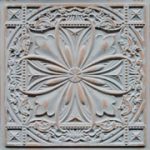 Faux Tin Ceiling Tile - 24 x 24 - #DCT 10 - Antique Taupe