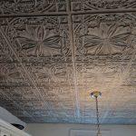 Faux Tin Ceiling Tile - 24 x 24 - #DCT 10 - Antique Taupe