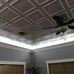 """Line Art - Styrofoam Ceiling Tile - 20""""x20"""" - #R 24 - Ultra Pure White"""