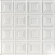 Shanko - Tin Plated Steel - Wall and Ceiling Patterns - #204 - White
