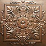 "Victorian - Styrofoam Ceiling Tile - 20""x20"" - #R14 - Antique Bronze"