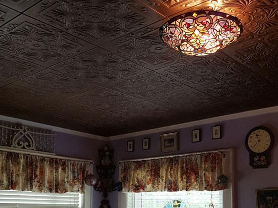 Victorian  – Styrofoam Ceiling Tile – 20″x20″ – #R14