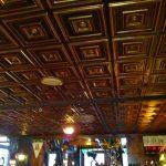 "Deco Seashore - Faux Tin Ceiling Tile - Glue up - 24""x24"" - #112"