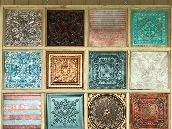 Faux Tin Ceiling Tiles