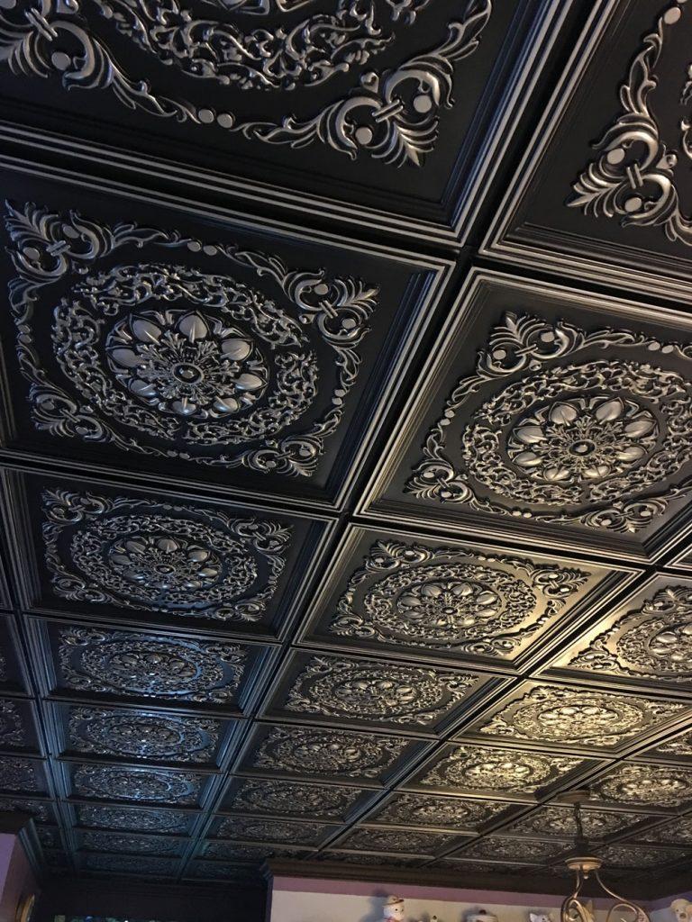 Antique Silver Ceiling Tiles Ideas Photos Decorativeceilingtiles