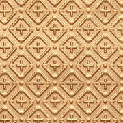 "Cross-N-Diamond - 3 "" Pattern - Faux Tin Backsplash Roll - #WC 70"