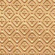 "Cross-N-Diamond - 3 "" Pattern - Faux Tin Backsplash Roll - #WC 70"