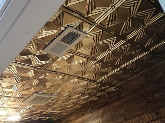 Diamond Jim – Shanko Tin Plated Steel Ceiling Tile – #303