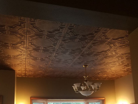 Evergreen – Styrofoam Ceiling Tile – 20×20 – # R28c