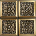 Lovers_Knot_Faux_Tin_Ceiling_Tile_231_antique_gold