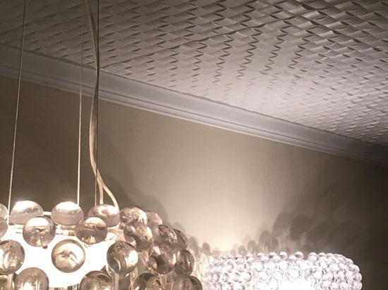 Cobblestone Styrofoam Ceiling Tile 20″x20″ – #R25