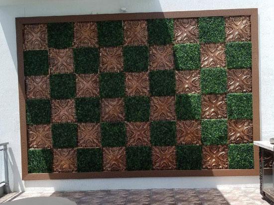 Faux Tin Ceiling Tile – 24″ X 24″ – #DCT 11