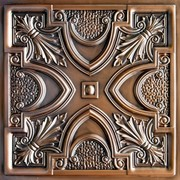 "Faux Tin Ceiling Tile - 24"" X 24"" - #DCT 11"