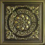 "Mumbai - Faux Tin Ceiling Tile - 24""x24"" - #247"