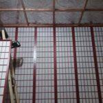 "Asian Dragons - Aluminum Ceiling Tile - 24""X24"" - #2490"
