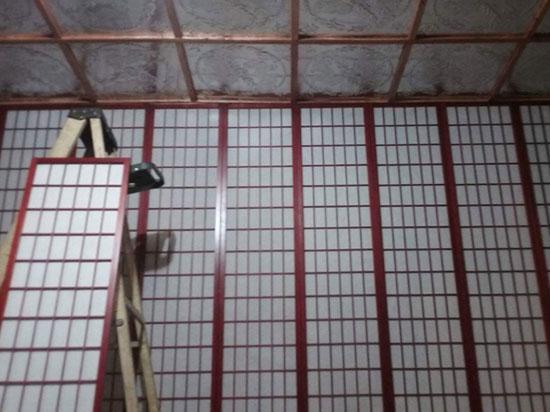 Asian Dragons – Aluminum Ceiling Tile – 24″X24″ – #2490