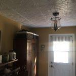 "Diamond Wreath - Styrofoam Ceiling Tile - 20""x20"" - #R02 - Plain White"