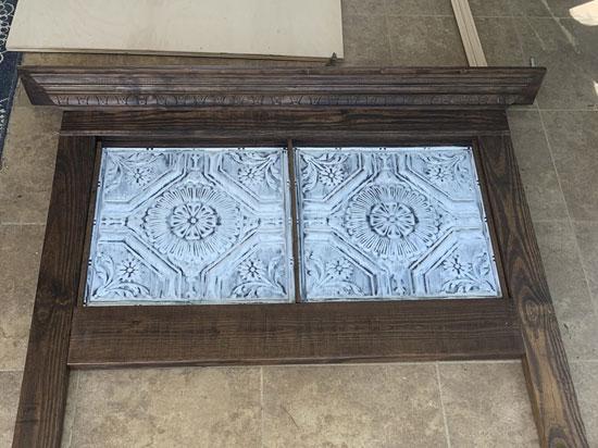 Larkspur – Tin Ceiling Tile By Shanko – #506