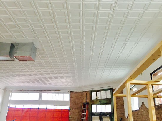 Piazza San Marco – Aluminum Ceiling Tile – 24″x24″ – #1209