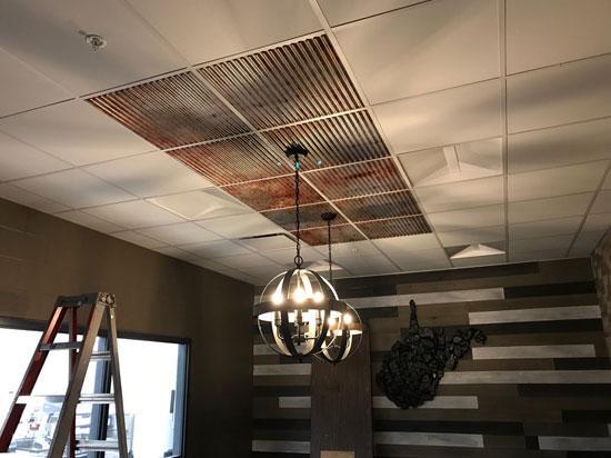 Faux Tin Ceiling Tile – 24″x24″ – #261