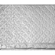 Antique - Aluminum Filler / Border - Nail Up - #2420