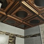 Faux Tin Ceiling Tile - Drop In - #266