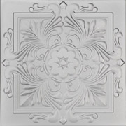 Victorian Glue-up Styrofoam Ceiling Tile 20 in x 20 in - #R14