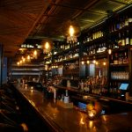 """Faux Tin Ceiling Tile - #501 - Installed at """"Victorian Whiskey Bar"""""""