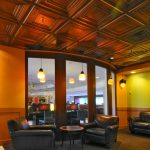 "Schoolhouse – Faux Tin Ceiling Tile – #222 - Installed at ""Starbucks"" - USA"