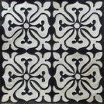 Celtic Fantasy Faux Tin_ceiling tile glue up - 24x24 - 101 - antique silver
