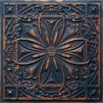 Milan – Faux Tin Ceiling Tile – 24 x 24 – #DCT 10