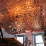 Gingerbread - Copper Ceiling Tile - 24 in x 24 in - #1208