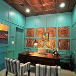 Jackson Square – Copper Ceiling Tile – 24″ x 24″ – #2431