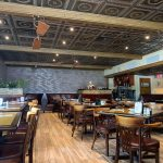 Laurel Wreath - Faux Tin Ceiling Tile - #210 - Installed at Zuccarelli's Italian Restaurant - Pompano Beach, FL