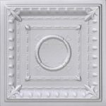 Romanesque Wreath – Styrofoam Ceiling Tile – 20″ x 20″ – #R 47