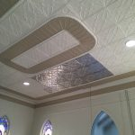 "Tin Ceiling Tile - Installed at ""Mt. Nebo Sanctuary Renovation"" - Martic Township in Lancaster, Pequea, USA"