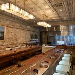 "Rossini – Shanko – Powder Coated – Tin Ceiling Tile – #508 - Installed at ""McCradys Tavern"" - Charleston, SC 29401, USA"